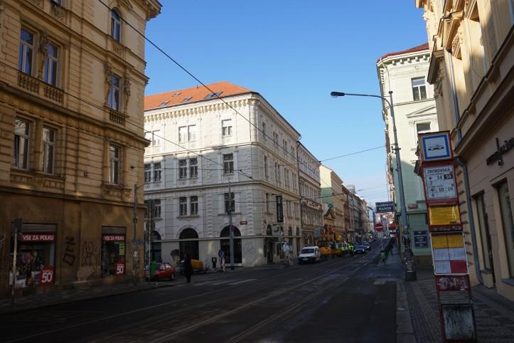 Jiráskovo nám Prague