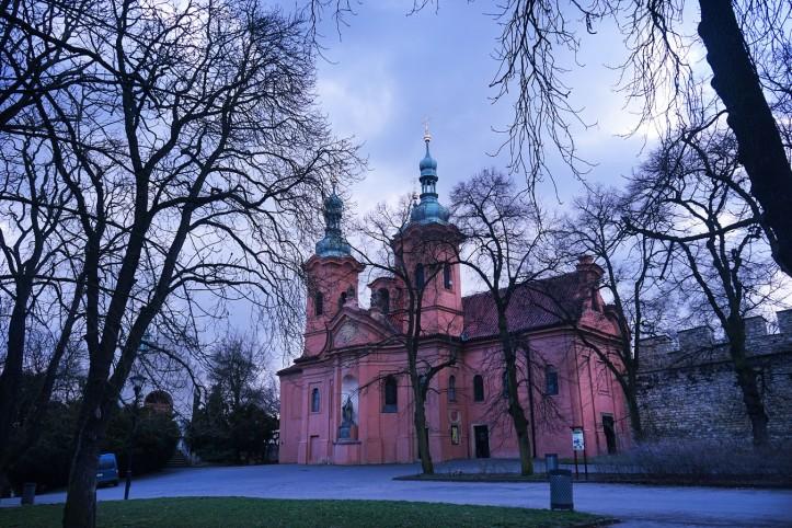 Strahov Monastery Petrin Hill Prague