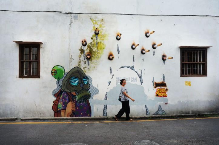 Mural Art Street Penang -