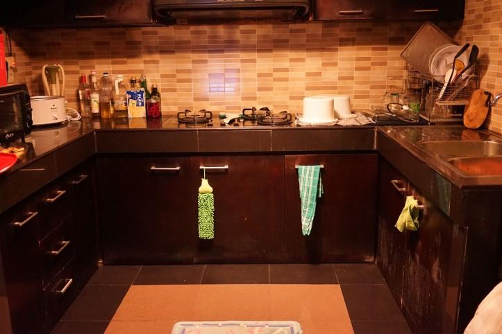 Dapur setelah acara :) Kretekin pinggang