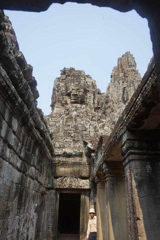 Candi Bayon, Cambodia