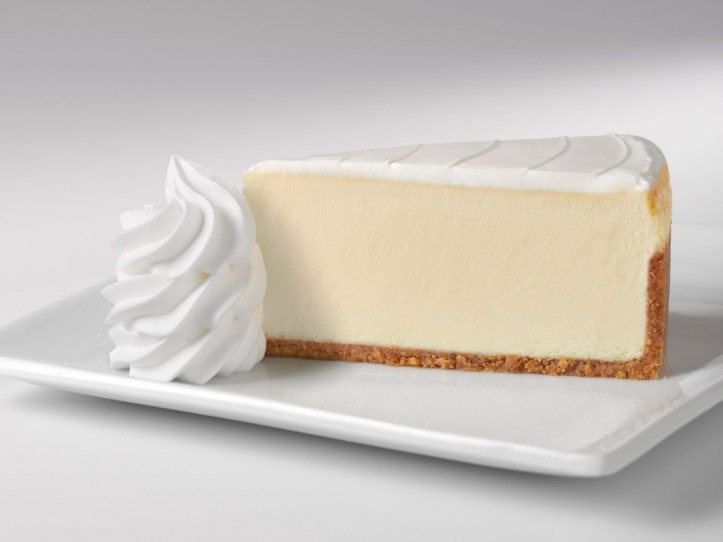 Cheese Cake Factory website