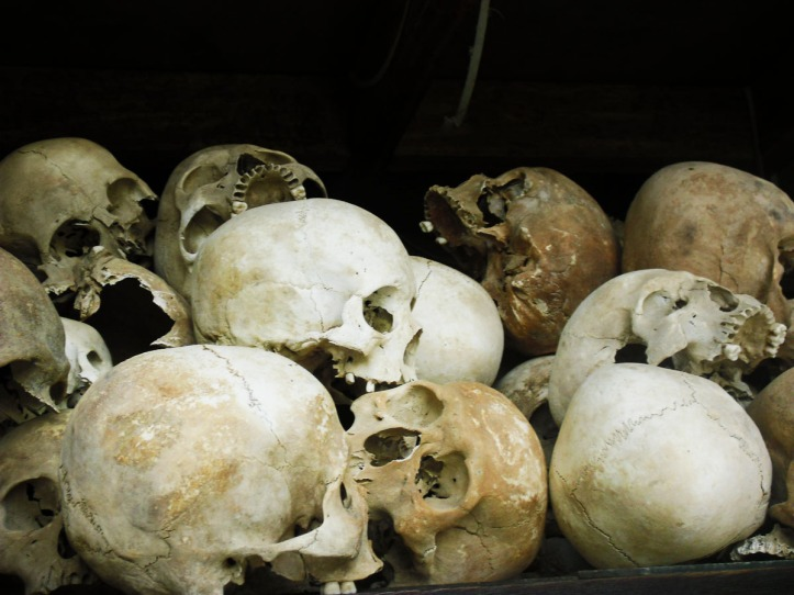 Killing Fields di Choeung Ek , Cambodia