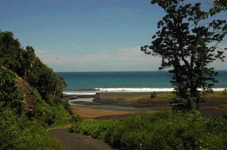 Jalan menuju Watu Godhek Lumajang