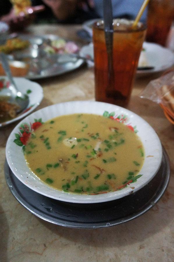 Soto dan Martabak telur Kesawan Medan