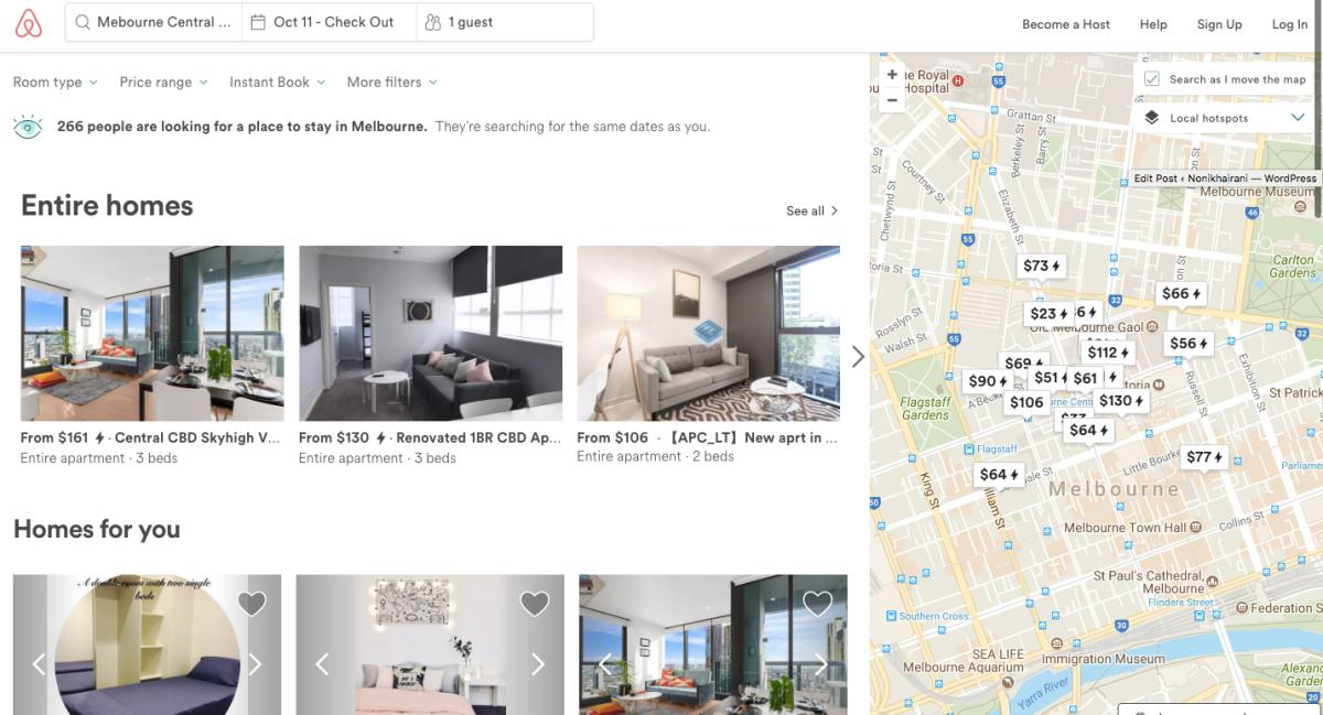 Airbnb Idaman